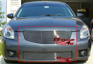 Fits 2007 2008 Nissan Maxima Billet Grille Combo Insert