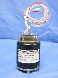 Mint Sma Rf Switch 1p3t Dc 18ghz 20 24vdc Ducommun M3 448j38 W connector 50 Ohm