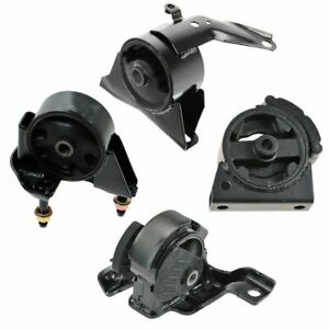 Engine Motor Transmission Mount Kit Set Of 4 For 93 97 Corolla 1 8l Us Automatic