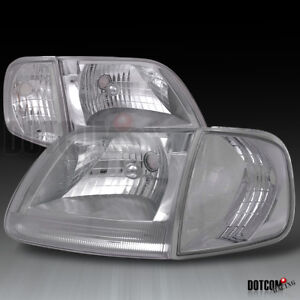 1997 2003 Ford F150 1997 2002 Expedition Euro Headlights Corner Signal Lamps 4pc