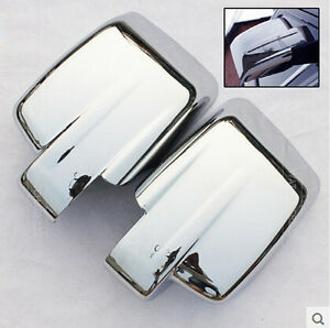 Fit For Jeep Patriot Liberty 07on Chrome Door Side Mirror Cover Trim Molding Cap