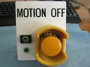 Idec Motion Off Switch Cannot Id Manufacturer s Model
