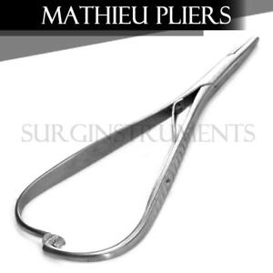 3 Mathieu Pliers 5 5 Orthodontic Surgical Dental Instruments Orthopedic