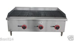 New Radiant Char Broiler Gas Grill 36