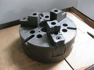 Powerhold 11 Hydraulic 3 jaw Power Chuck W A8 Spindle Mount Made In Usa