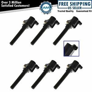 6 Piece Ignition Spark Coil Set Kit For Mazda Tribute Mercury Ford Taurus