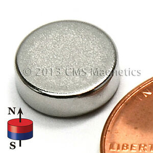 Cms Magnetics N45 Neodymium Disc Magnet 3 8 x 1 8 500 pc Super Pack