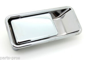 New Chrome Half door Outside Exterior Handle Lh For 87 06 Jeep Wrangler Tj Yj