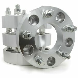 4 Wheel Spacers Adapters 5x135 To 5x5 5 1 5 Thick Ford F150 97 03