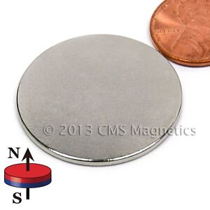 Neodymium Disk wafer Magnets N45 1 25 X 1 16 Ndfeb Rare Earth Magnets Lot 20