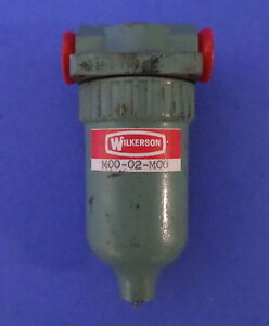 Wilkerson Pneumatic Coalescing Filter M00 02 mco pzb