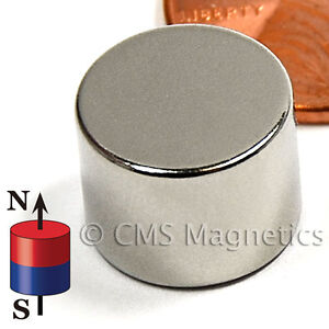 N42 Neodymium Magnets Dia 1 2x3 8 Ndfeb Rare Earth Magnets 300 Count