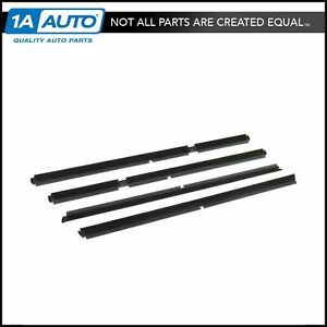 Window Sweep Outer Front Rear Set Of 4 For 99 04 Jeep Grand Cherokee