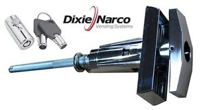 T handle Assembly With Key Cover Lock dixie Narco Early Style Machine ships Free