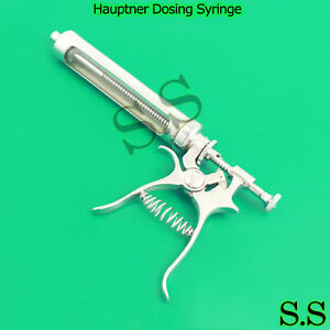 Hauptner Dosing Syringe Veterinary Ranch Farm Livestock