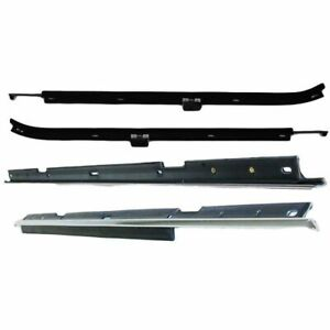 Window Sweeps Felt Seal Front Rear Outer Belt For Chevy Caprice Impala Sedan