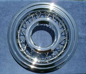 56 Chevy Wire Wheel Covers new 1956 Chevrolet