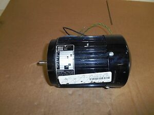 Bodine 1 6 Hp Small Motor Rpm 1700 115 Volts Amps 3 6 Used