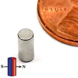 Strong N45 Neodymium Magnet Dia 1 8 X 1 4 Rare Earth Magnet Cylinder 500 Pc