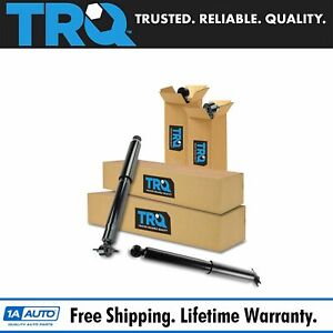 Trq Shock Absorber Front Rear Driver Passenger Kit Set 4pc For Jeep Wrangler