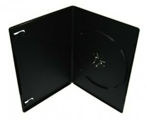 100 Premium Slim Black Single Dvd Cases 7mm 100 New Material