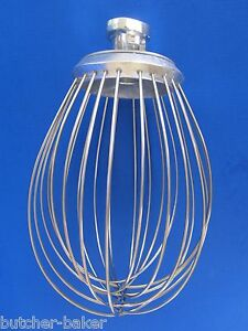 12 Quart Wire Whip Whisk For Hobart A120 A 120t A120 Bakery Dough Mixer