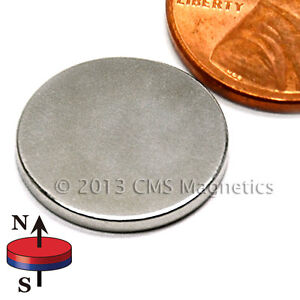 200 Count N45 Neodymium Magnets Dia 5 8x1 16 With 3m Adhesive On North