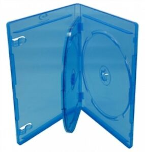 100 Premium Standard Blu ray Triple 3 Disc Dvd Cases 12mm
