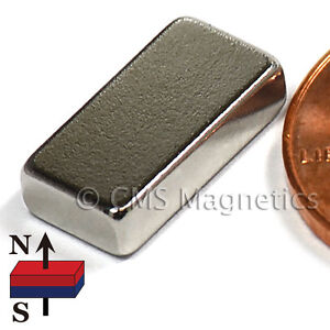 Cms Magnetics 100 Pieces Neodymium Magnets N50 1 2x1 4x1 8
