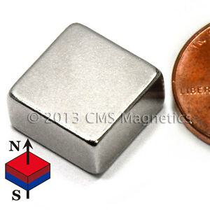 Strong Neodymium Magnet Block N42 1 2x1 2x1 4 Rare Earth Magnet 50 Pc