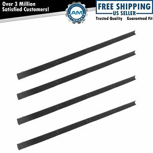 Window Sweep Inner Outer Weatherstrip Seals Set Kit For 72 79 Dodge Pickup