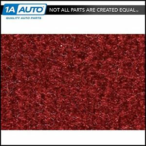 77 90 Chevrolet Caprice 4 Door Rwd Passenger Area Carpet 7039 Dk Red Carmine