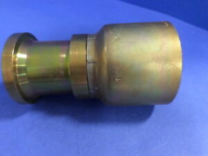 Parker 11571 32 32 Crimp Fitting Sae Code 61 Flange Head pzb
