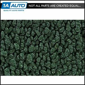 68 72 Chevy Chevelle 2 Door Bench Seat W o Console Carpet 08 Dk Green For Manual