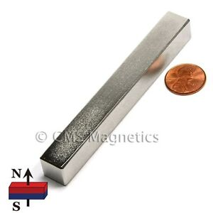 N45 4x1 2x1 2 Rare Earth Neodymium Magnets 4 Pc