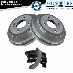 Rear Brake Shoes Set 2 Drums Kit Left Right For Honda Civic Crx Del Sol