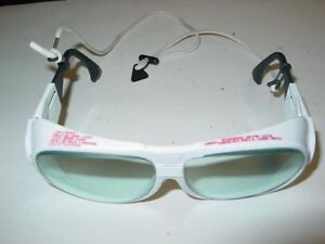 Uvex By Honeywell L596s Laser Glasses Light Gray Uncoated