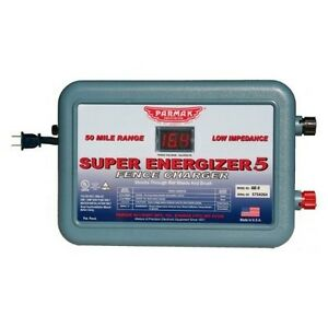 New Parker Mccrory Se 5 4 Super Energizer 5 110v 50 Mile Charger Usa 5197280