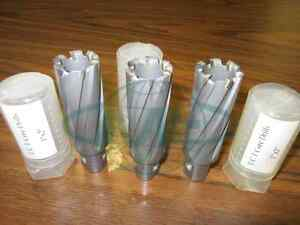 1 X 2 T c t Core Drills carbide Tipped Annular Cutter 3pcs 1009 anc1200 new