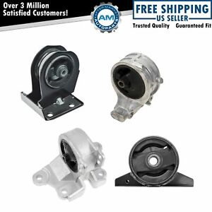 Engine Motor Auto Transmission Mount Kit Set For Sebring Eclipse Galant 2 4l