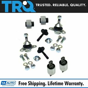 Trq Front Control Arm Bushing Ball Joint Complete Kit Set For Volvo S60 S80 V70