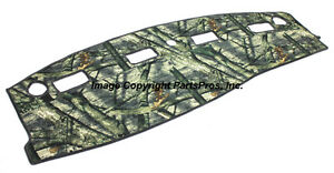 New Mossy Oak Treestand Camo Camouflage Dash Mat Cover For 2003 05 Dodge Ram