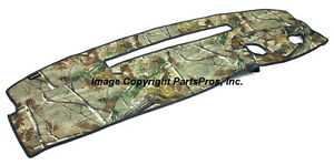 New Realtree Ap Camo Camouflage Dash Mat Cover For 1995 96 Chevy