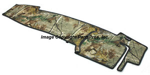 New Realtree Ap Camo Camouflage Dash Mat Cover For 1998 04 Toyota Tacoma Truck