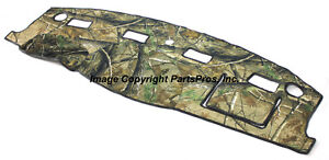 New Realtree Ap Camo Camouflage Dash Mat Cover For 2006 08 Dodge Ram Truck