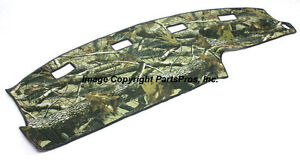 New Realtree Hardwoods Camo Camouflage Dash Mat Cover For 1994 97 Dodge Ram