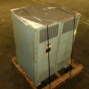 Federal Pacific Reliance 750kva 332v Isolation Transformer Model 36b pzb