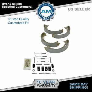 Rear Parking Brake Shoes Hardware Kit Set For 93 98 Jeep Grand Cherokee