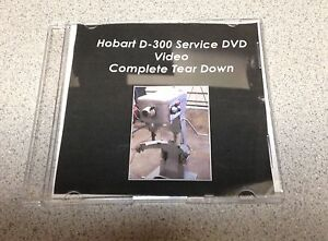 Mixer Hobart D 300 Service Dvd Video Complete Tear Down