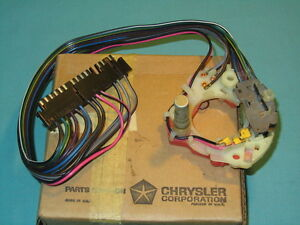 Nos Mopar 1971 74 Chrysler New Yorker Imperial Turn Signal Switch Assembly